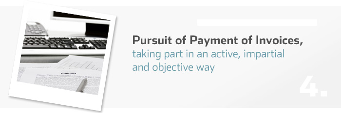 Pursuit of Payment of Invoices